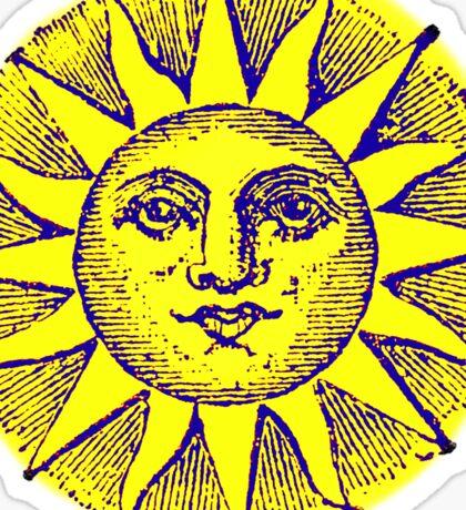 Vintage Sun Sticker