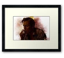 True Detective - Rust Cohle Framed Print