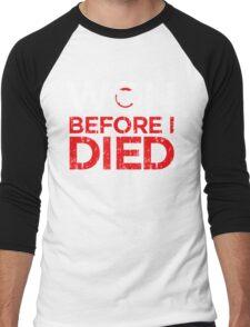 Chicago Cubs Won Before I Died World Series Shirt Men's Baseball ¾ T-Shirt