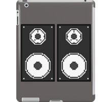 Twin Speakers Pixel Art iPad Case/Skin