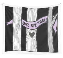 INTO THE TREES Wall Tapestry