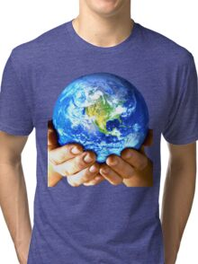 Planet Earth Tri-blend T-Shirt