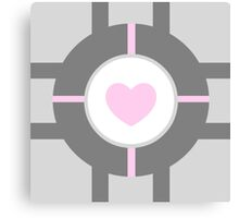 Companion Cube Canvas Print
