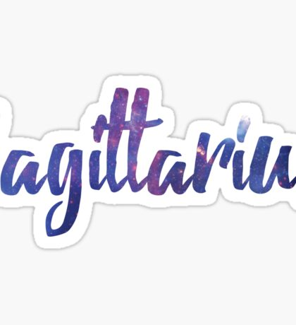 Sagittarius Zodiac Sign Sticker