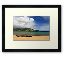 A Lazy Day In Hanalei Framed Print
