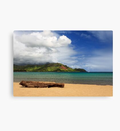A Lazy Day In Hanalei Canvas Print