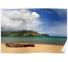 A Lazy Day In Hanalei Poster