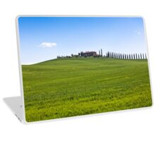 Classic view of Tuscan farmhouse Laptop Skin