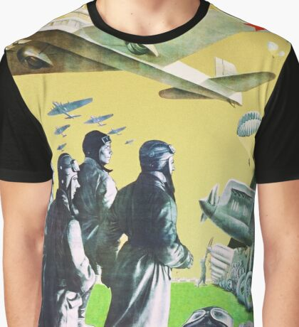 Constructivistic photomontage poster. Authentic Russian avant-garde Graphic T-Shirt