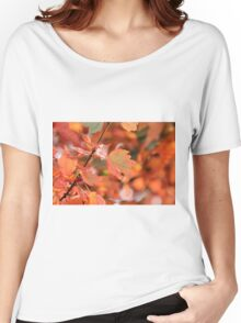 Fall leaves Women's Relaxed Fit T-Shirt