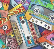 Mixtapes! 80s, 90s, 1980s,1990s, Mixtape Love Sticker