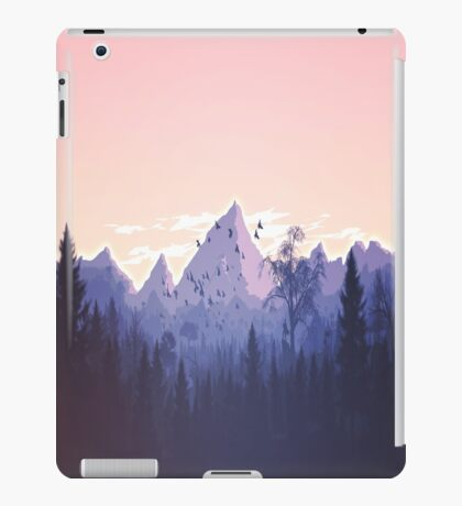 Lovely Cute Nature Art Work Painted iPad Case/Skin