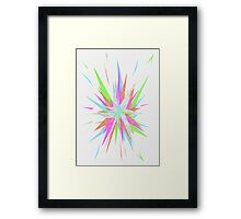 Splice 4 Framed Print