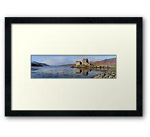 Eilean Donan Castle - Panorama Framed Print