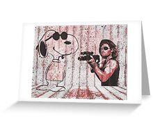Snake and Joe Greeting Card