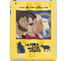 The 'X-Men' Who Stare at Goats iPad Case/Skin