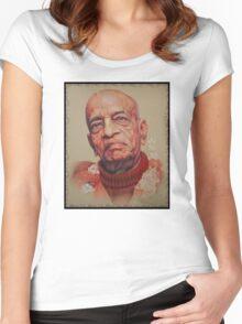 Mark C. Merchant brand illustration Women's Fitted Scoop T-Shirt