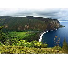 Waipio Valley Photographic Print