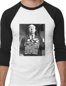 Alfred Hitchcock  Men's Baseball ¾ T-Shirt