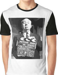 Alfred Hitchcock  Graphic T-Shirt