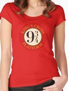 Platform 9 3/4 Women's Fitted Scoop T-Shirt