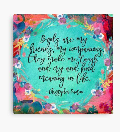 Books Are....  Canvas Print
