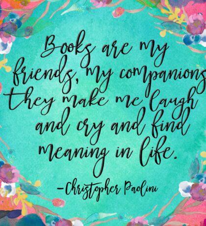 Books Are....  Sticker