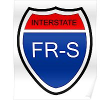 FR-S Interstate Poster