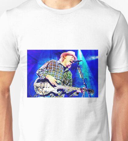 Neil Young Abstract Art Unisex T-Shirt