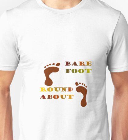 Barefoot Roundabout Unisex T-Shirt