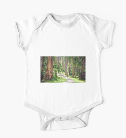 Mountain Ash in the Dandenongs - Melbourne, Victoria One Piece - Short Sleeve