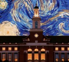 Starry Night Oklahoma State Library Sticker