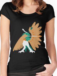 Decidueye Women's Fitted Scoop T-Shirt