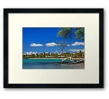 Anaehoomalu Bay Framed Print