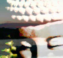 Budda Digital Art Sticker
