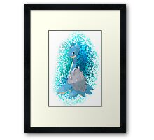 Pokemon Lapras Framed Print