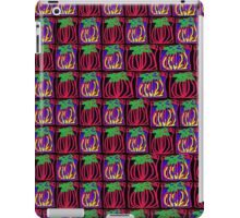 Red green yellow pineapple pattern iPad Case/Skin