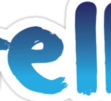 Hello 3 Sticker