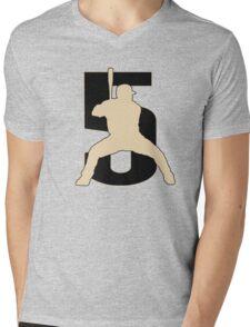 Bagwell Mens V-Neck T-Shirt