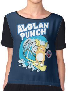 Alolan Punch Chiffon Top
