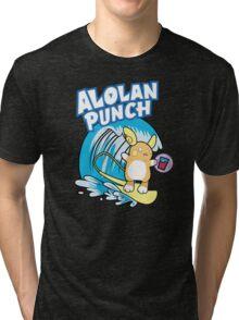 Alolan Punch Tri-blend T-Shirt