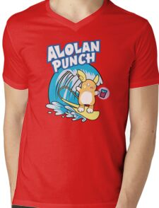 Alolan Punch Mens V-Neck T-Shirt