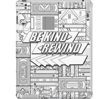 Be Kind Rewind - 80s Throwback, 1980s, 80s iPad Case/Skin