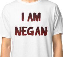 The Walking Dead Season 8 I Am Negan Classic T-Shirt