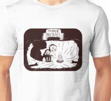 DHMIS 3 - Michael Black w/clear back Don't Hug Me I'm Scared Unisex T-Shirt