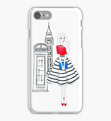 London Girl iPhone Case/Skin