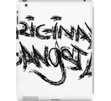 Original Gangsta iPad Case/Skin