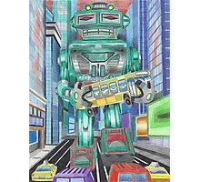Retro Robot - Robots, Space Photographic Print