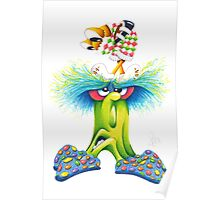 M'ODD'STER 02 - BUG'and'UGH Poster