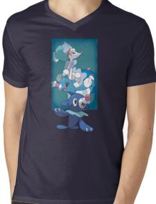 Team Popplio Mens V-Neck T-Shirt